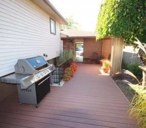 TruNorth decking is made in Canada