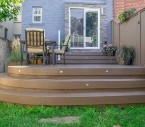 TruEcono Decking in Mocha